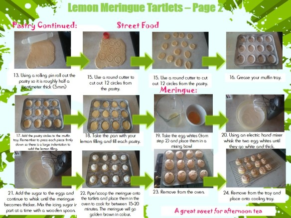 Lemon Meringue Tartlets Method 2